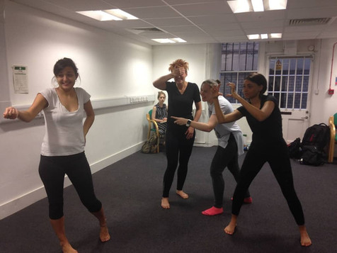 Improv and movement exercises