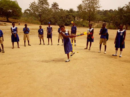In Grassroots Cricket: SLCA supports Kent to introduce cricket in Kono​​