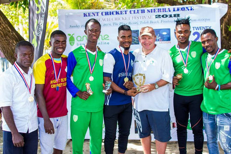 Indian owned Company wins Beach Cricket Festival