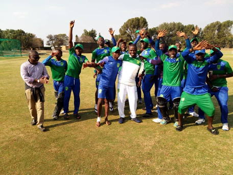 Sierra Leone wins silver at the ICC Africa U19 World Cup Qualifier