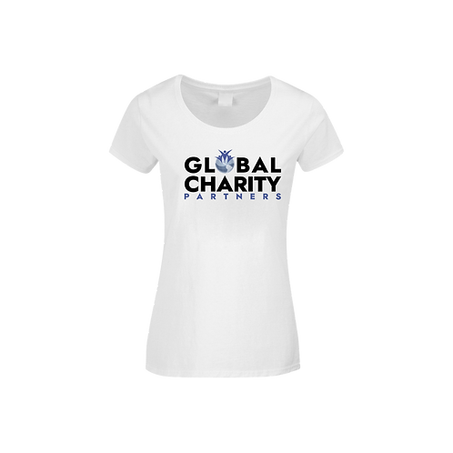 Global Charity Partners Logo Tee