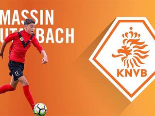 Massin Boutakbach uitgenodigd voor het KNVB selectieteam Onder 15.