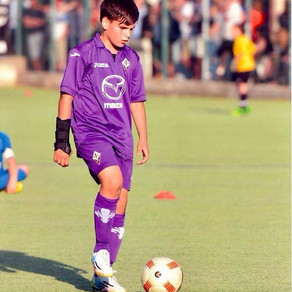 Andrei A. David van ACF Fiorentina u15 sluit zich aan bij onze Talent Academy