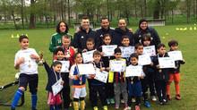Yassine Zakir (FC Groningen) verricht uitreiking voorjaarscursus!