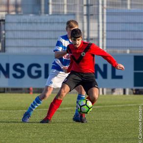 Muhlis Dagasan op stage bij PEC Zwolle