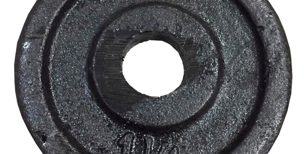 Disco 1,25kg diametro 30mm / 50mm