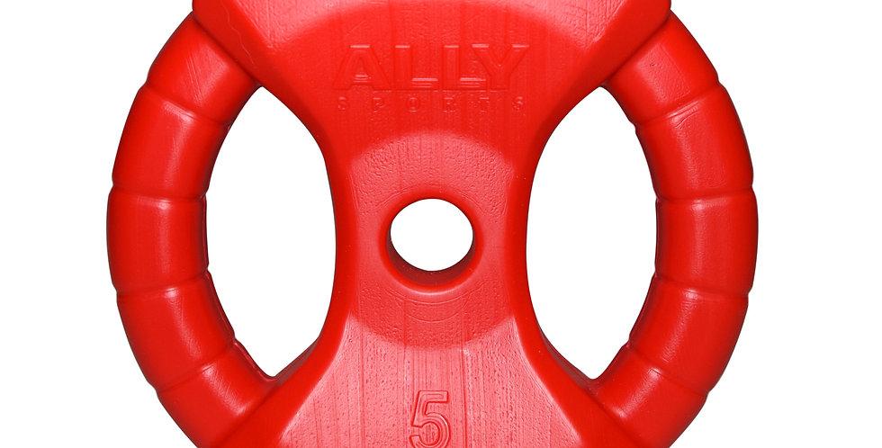 Disco 5kg PVC c/ Manija