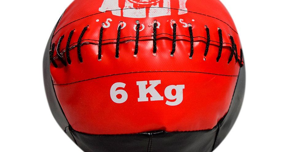 Medicine Ball 6 Kg- Crossfit Funcional - Ally Sports