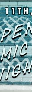 Open Mic Banner