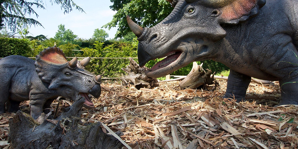 RESCHEDULED (now May 7th): April Playdate Meet-up: Triassic Trail Dinosaur Exhibit
