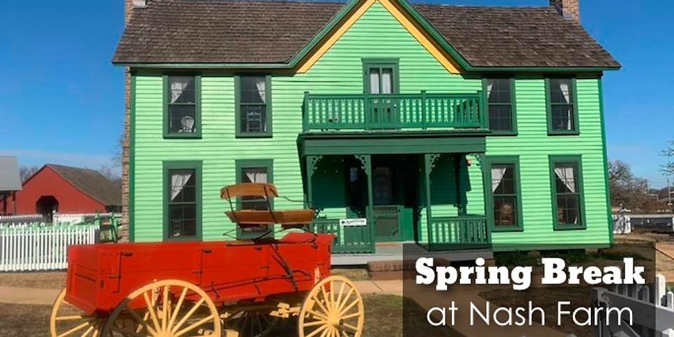 March Playdate Meetup: Nash Farms Spring Break Farm Life