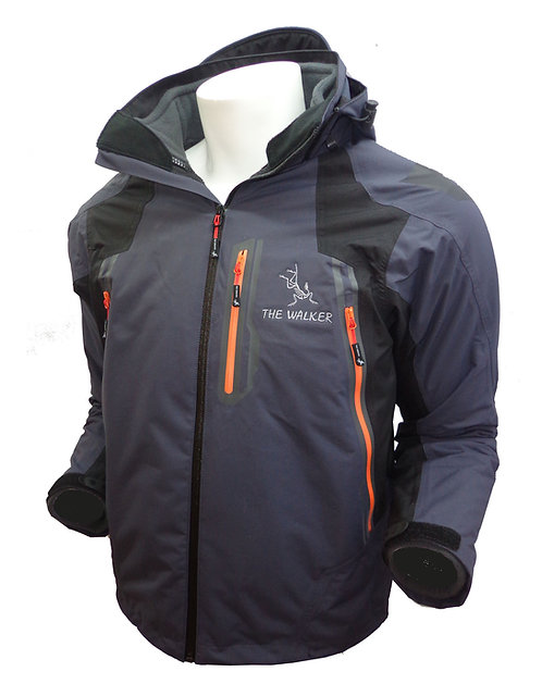Casaca Shell Alpha Pureq Impermeable The Walker
