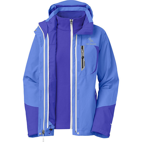 casaca shell impermeable  ADELE Mujer TWSA006