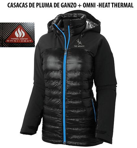 Casacas chaquetas THE WALKER de pluma de  ganzo