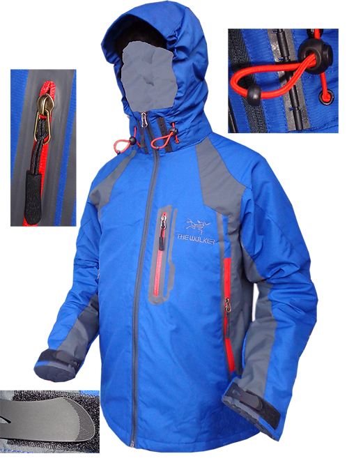 casacas impermeables de the walker outdoor TWI007