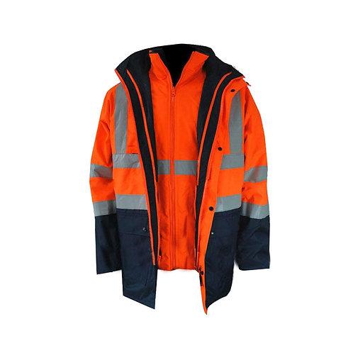 Casaca  Industrial 100% Impermeable para Minería