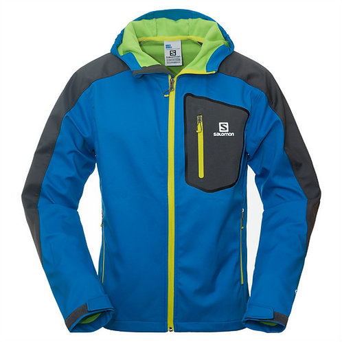 SALOMON GORE-TEX ACTIVE SOFTSHELL RUNNING JACKET
