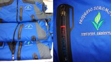EnThe Walker hemos Fabricado casacas 2 en 1 para Proyecto Toromocho Junin y enviado 08-11-13