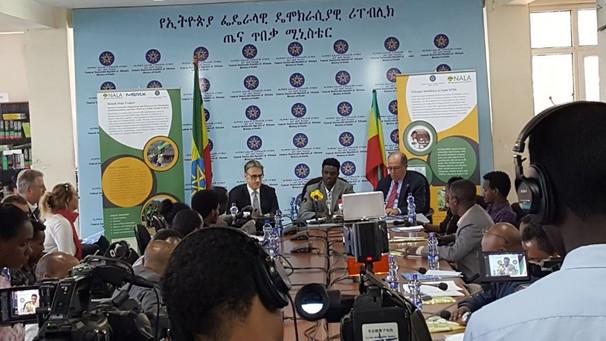 Press Conference to launch NALA- Merck- Ethiopian FMoH Collaboration