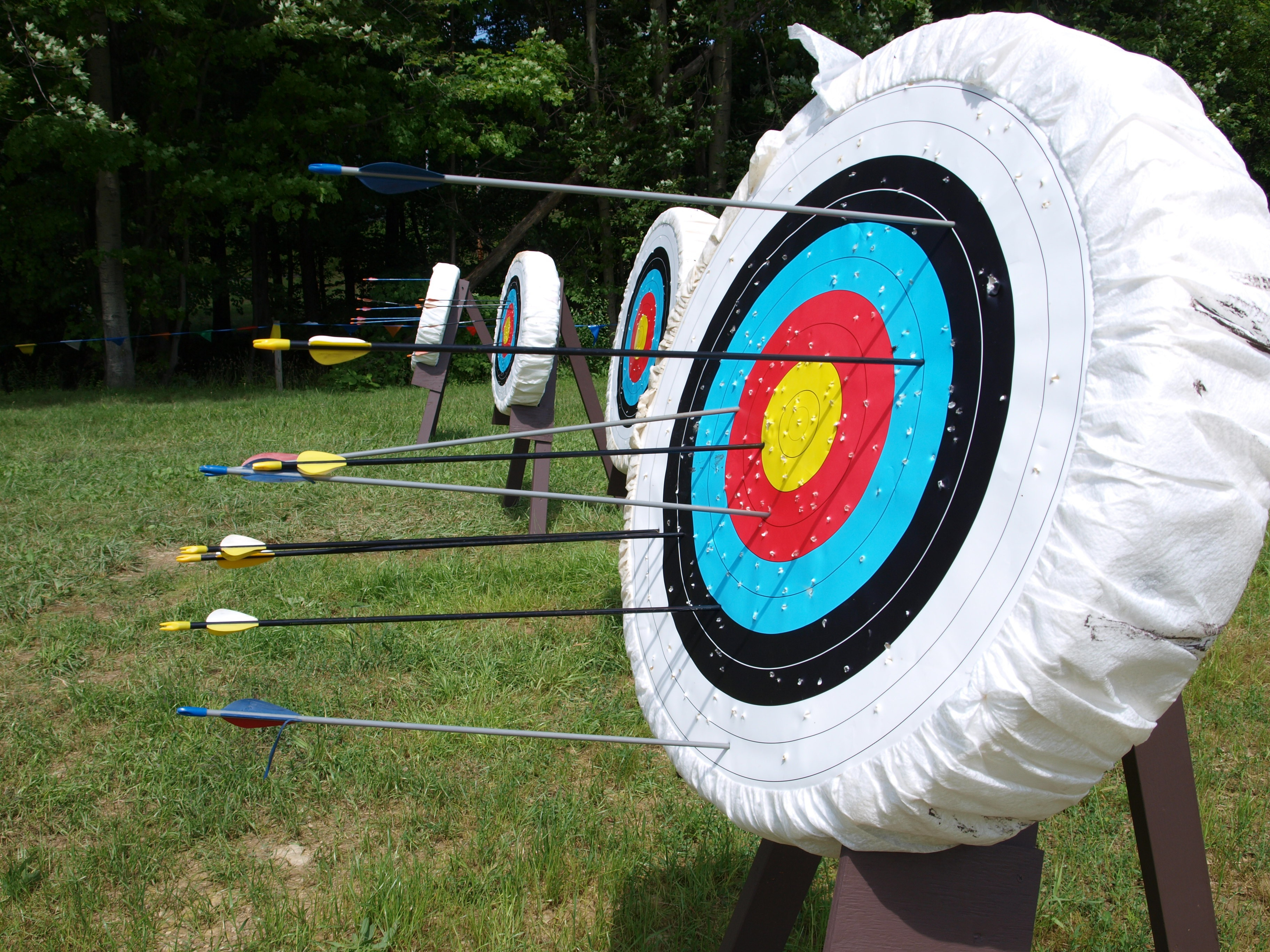 Archery With AYOS - St George's Park