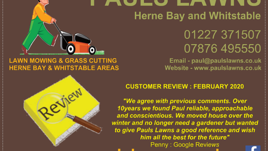 """CUSTOMER REVIEW : FEBRUARY 2020 - """"We agree with previous comments. For over 10years we have ....."""