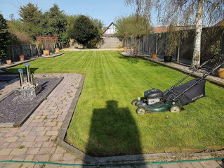 April 2018 - Another first cut done - Another happy customer.