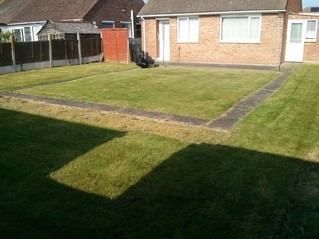 April 2013 - Anonymous mowing - Lawns i regularly maintained fora few years but never met thecusto