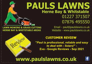 """CUSTOMER REVIEW - SEPTEMBER 2021 - """"Paul is professional, reliable and easy to deal with - 5stars!"""""""