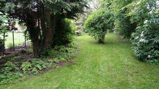 April 2012 - A mature, country type garden
