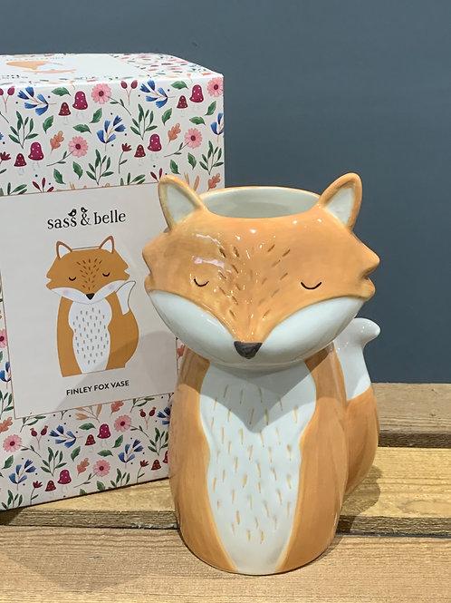 Finley Fox Vase