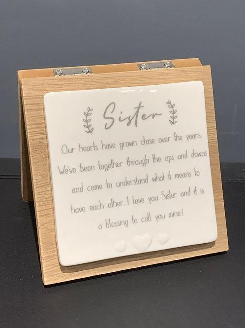 Sister Forever Card