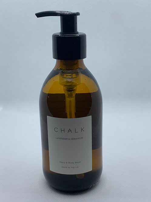 Chalk Uk Lavender & Geranium Hand & Body Wash