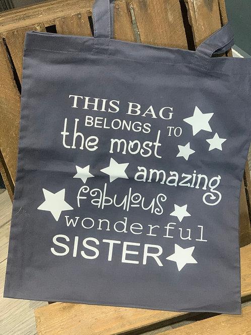 Fabulous Wonderful Sister Tote Bag