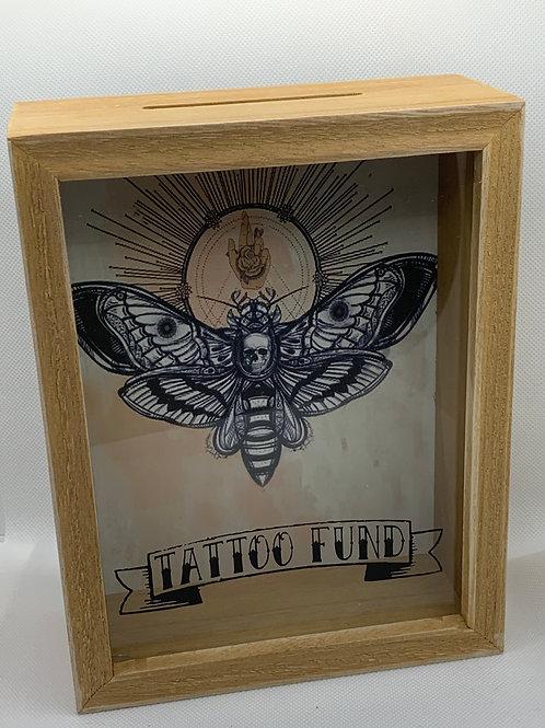 Tattoo Fund Savings Box