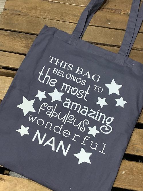 Fabulous Wonderful Nan Tote Bag