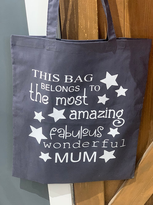 Fabulous Wonderful Mum Tote Bag