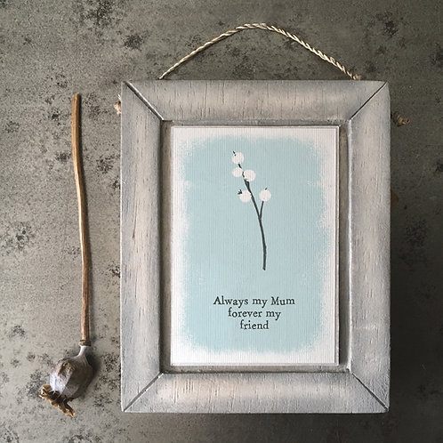 Always My Mum Berry Wooden Picture