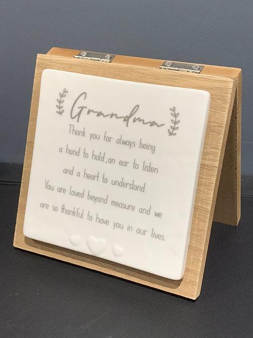 Grandma Forever Card