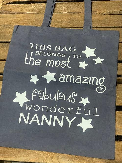 Fabulous Wonderful Nanny Tote Bag