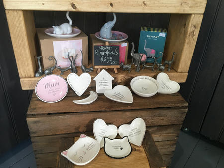 Ring Holders And Trinket Dishes