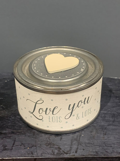 Love You Lots Candle