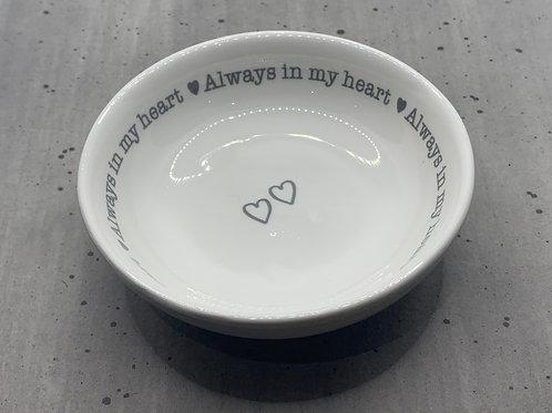 Always In My Heart Trinket Dish