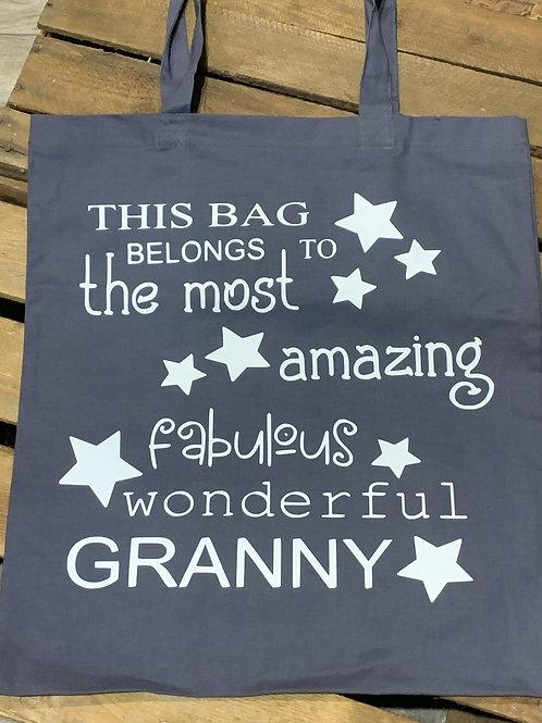 Fabulous Wonderful Granny Tote Bag