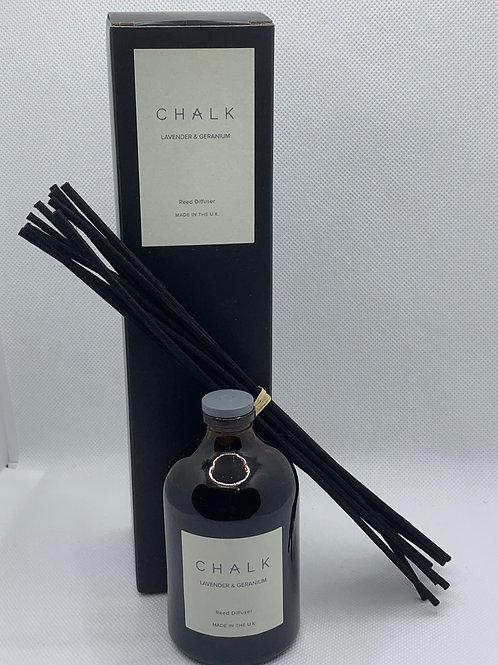 Chalk Uk Lavender & Geranium Diffuser