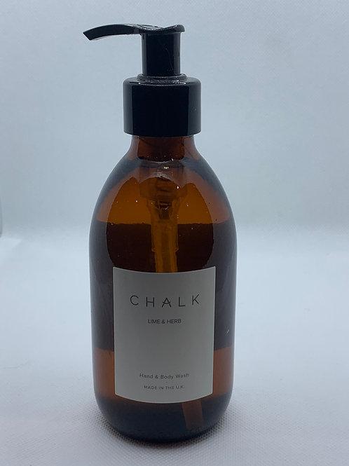 Chalk Uk Lime & Herb Hand & Body Wash