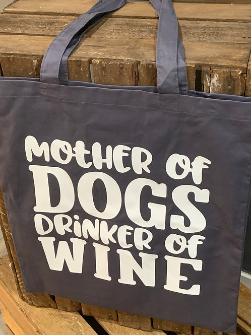 Mother Of Dogs Tote Bag