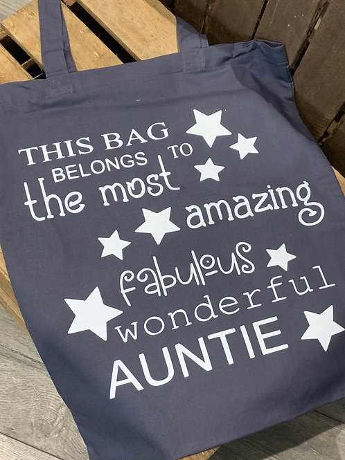 Fabulous Wonderful Auntie Tote Bag
