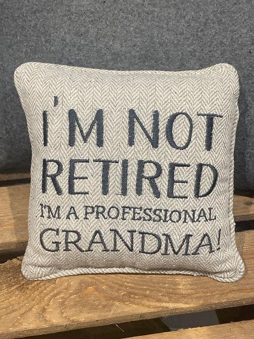Professional Grandma Cushion