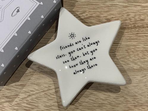 Friendship Star Trinket Dish