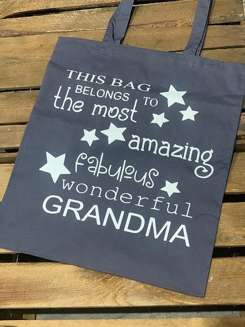 Fabulous Wonderful Grandma Tote Bag